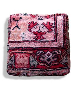 berber kilim pouf wool floor cushion