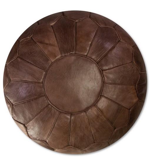 premium chocolate brown leather