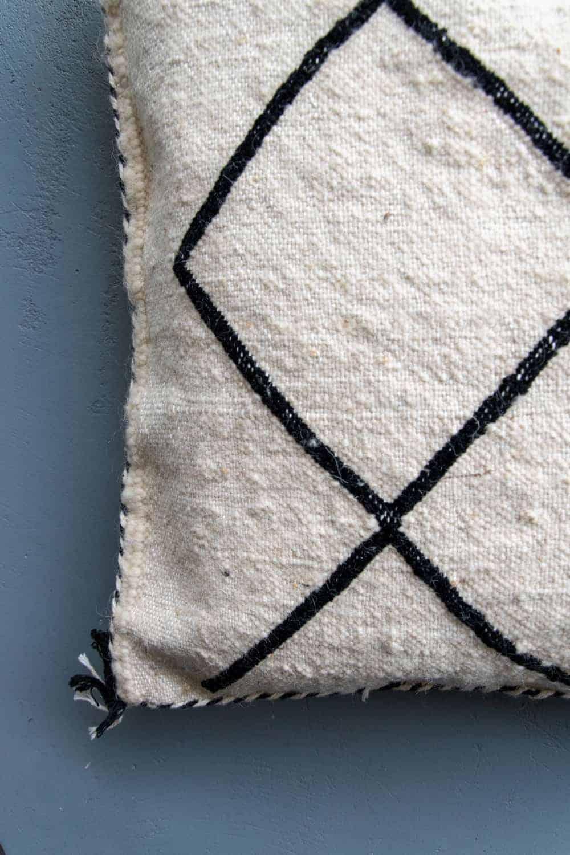 moroccan berber beni ourain pillow