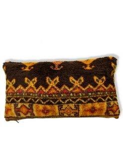 berber black pillow yellow