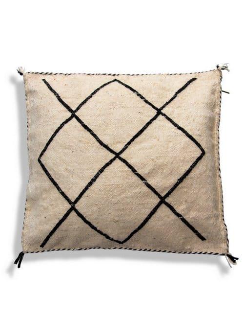 berber pillow cushion handwoven