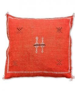 moroccan sabra pillow red