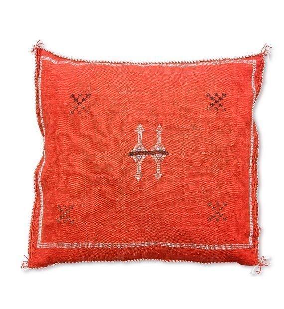 moroccan sabra pillow red
