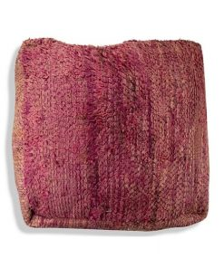 kilim purple pouf moroccan floor cushion