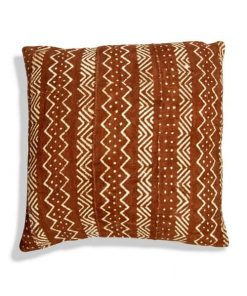 moroccan berber pillow mudcloth brown