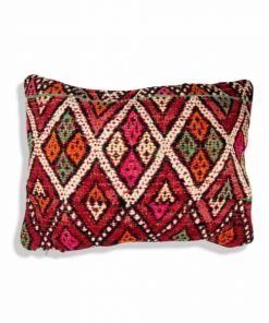 moroccan berber red pillow