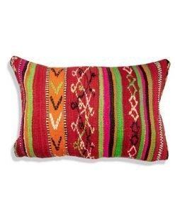 moroccan berber pillow multicolore