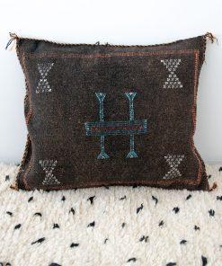 sabra silk pillow moroccan berber