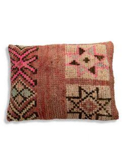 moroccan berber pillow pink vintage