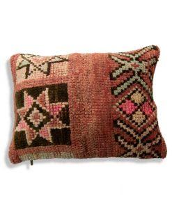moroccan berber pillow pink