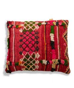 berber moroccan red pillow