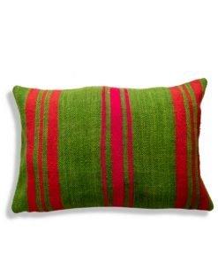 green berber moroccan pillow