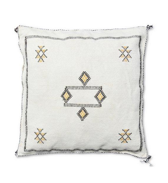 moroccan sabra pillow white