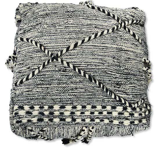 zanafi berber kilim pouf