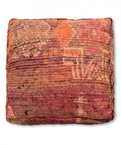 berber kilim pouf vintage