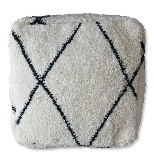beni ourain floor cushion