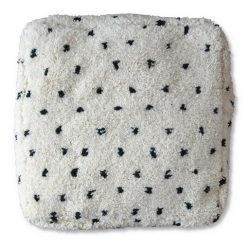 moroccan floor pillow dotted