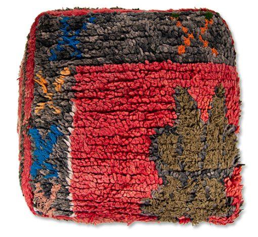 berber kilim pouf