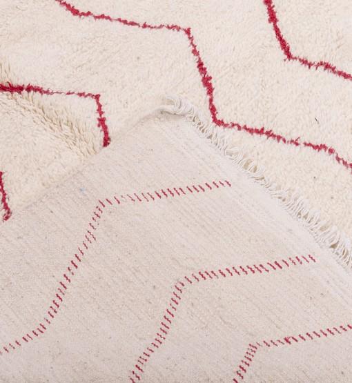 berber rug behind