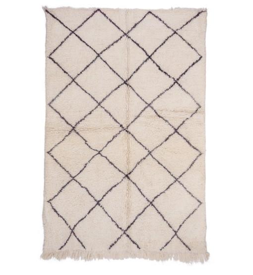 beni ourain berber rug