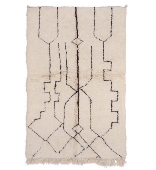 berber rug beni ourain