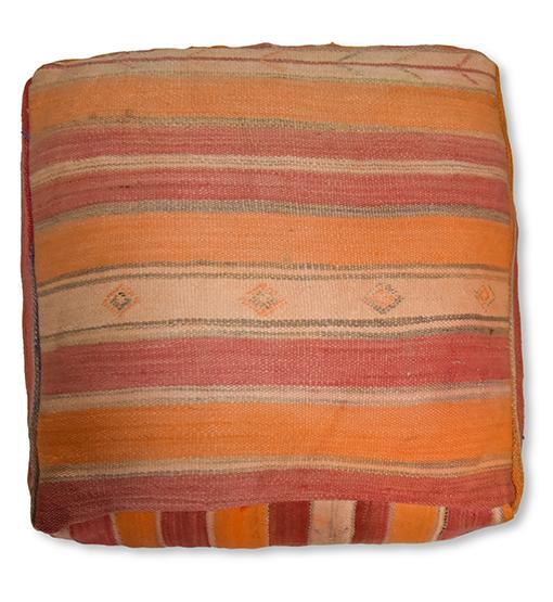 moroccan floor cushion multicolore