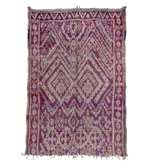 moroccan berber rug beni mguild