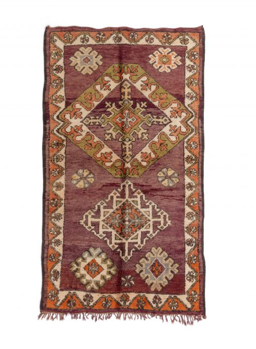 moroccan berber rug boujaad